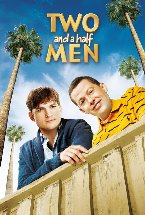 (12. Staffel) - Two and a Half Men: Walden Schmidt (Ashton Kutcher, M.) und Alan (Jon Cryer, r.) ... - Bildquelle: Warner Brothers Entertainment Inc.