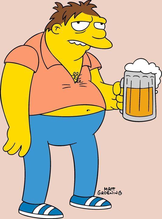 (15. Staffel) - Homers bester Freund, Barney Gumble, liebt Bier und Salzbrezln in Moe's Taverne ... - Bildquelle: und TM Twentieth Century Fox Film Corporation - Alle Rechte vorbehalten