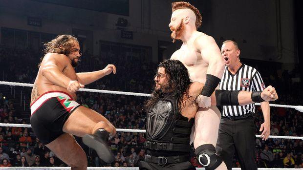 SmackDown vom 22. Januar © WWE