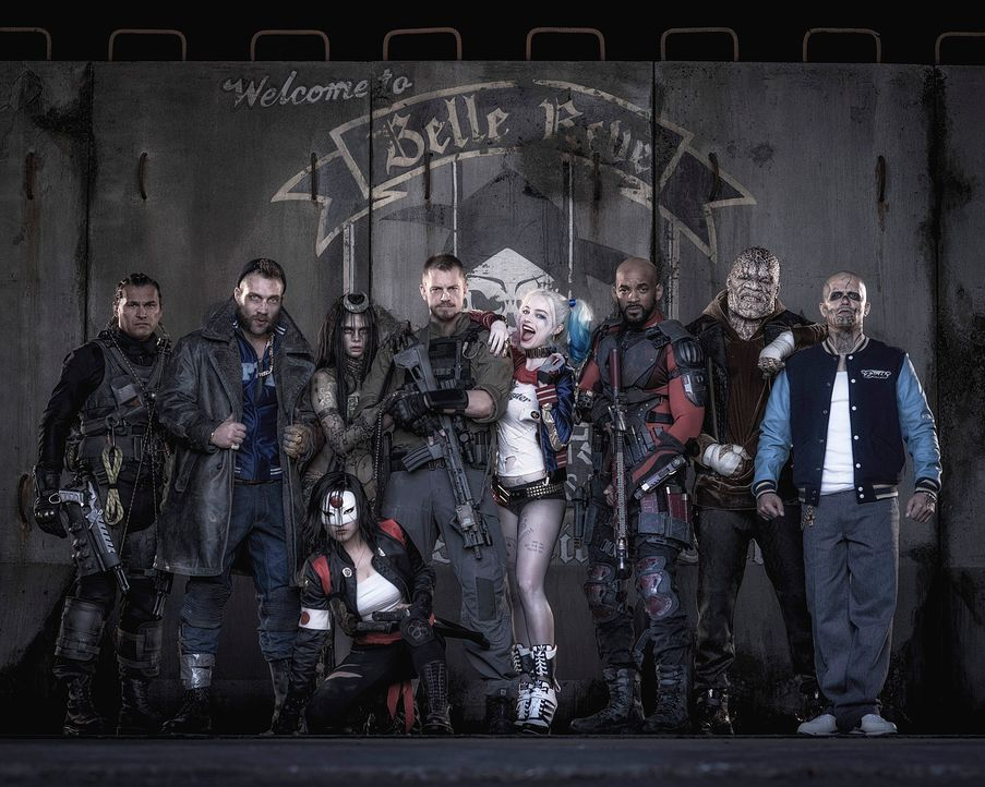 Suicide-Squad-01-Warner-Bros-Entertainment-Inc - Bildquelle: 2013 Warner Bros. Entertainment Inc