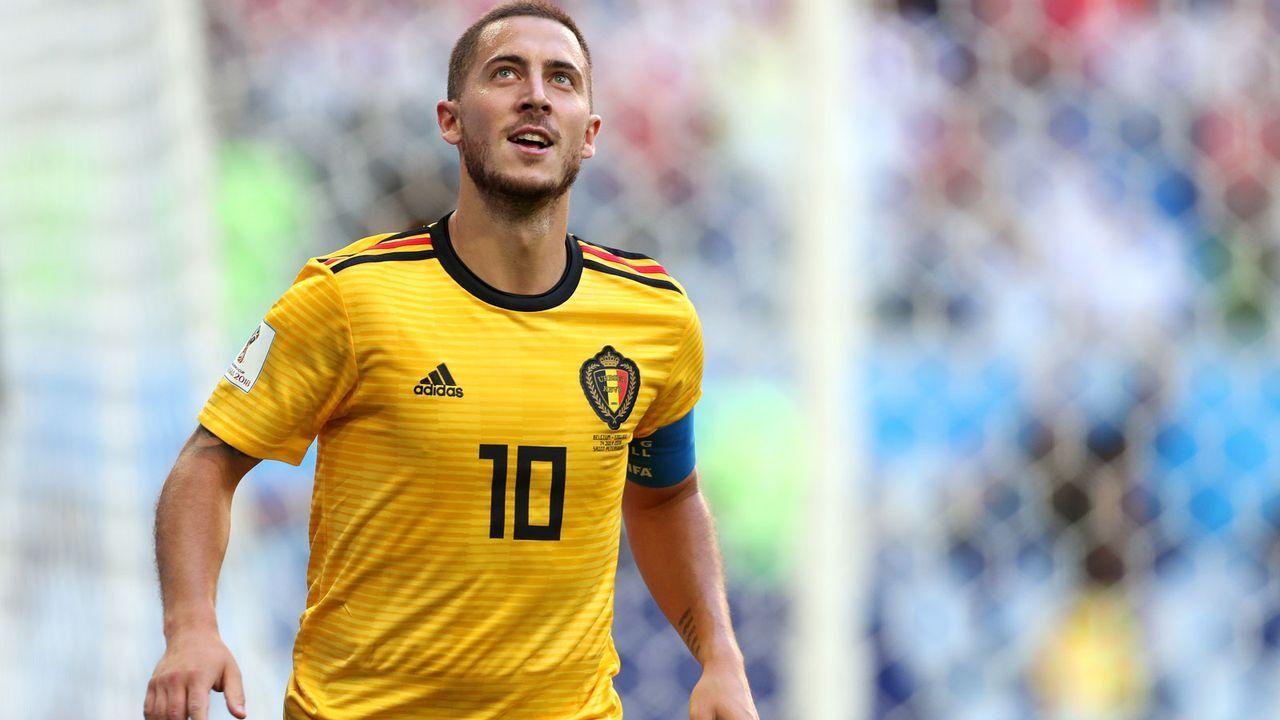 Silver Ball: Eden Hazard (Belgien) - Bildquelle: 2018 Getty Images