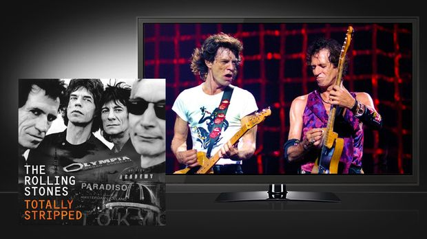 Rolling Stones: Totally Stripped - Eagle Vision © Eagle Vision