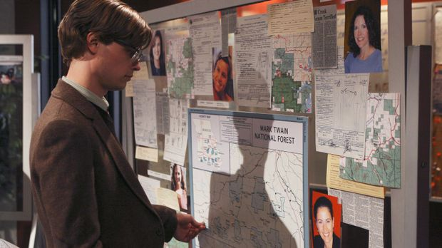 Versucht einen verzwickten Fall zu lösen: Reid (Matthew Gray Gubler) ... © To...