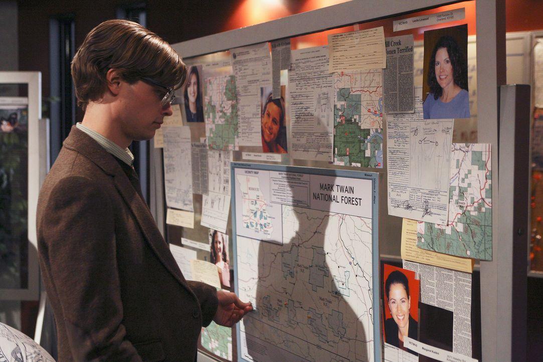 Versucht einen verzwickten Fall zu lösen: Reid (Matthew Gray Gubler) ... - Bildquelle: Touchstone Television