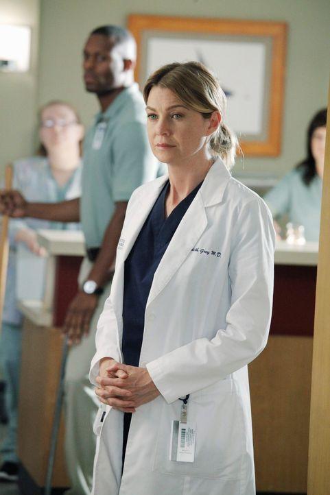 Rückblende: Meredith (Ellen Pompeo) versucht, mit den seelischen Folgen des Flugzeugabsturzes fertigzuwerden ... - Bildquelle: ABC Studios