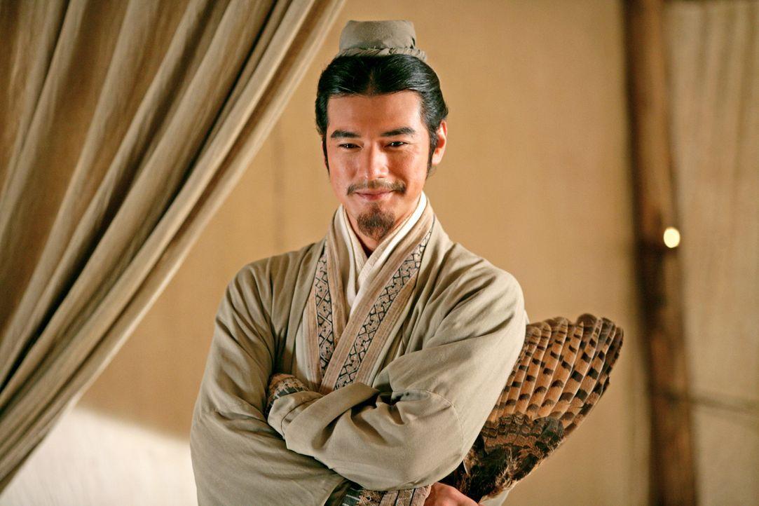 Im Palast des südlichen Königreichs versucht Zhuge Liang (Takeshi Kaneshiro) König Sun Quan dazu zu überreden, sich mit König Shu gegen Kaiser Han z... - Bildquelle: Constantin Film Verleih GmbH