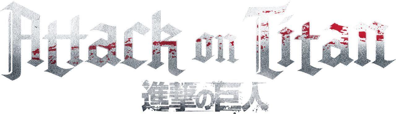"""Attack on Titan - Logo - Bildquelle: Hajime Isayama,Kodansha/""""ATTACK ON TITAN""""Production Comittee All Rights Reserved."""