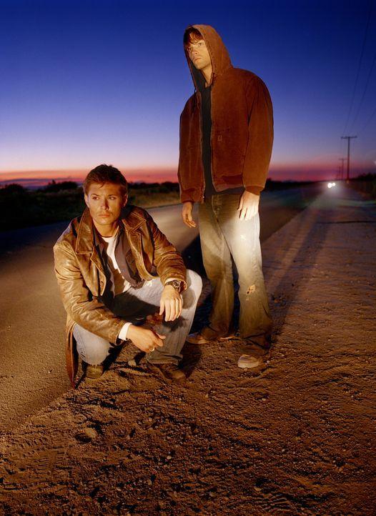 (1. Staffel) - Als John unter mysteriösen Umständen verschwindet, bittet Dean (Jensen Ackles, l.) seinen jüngeren Bruder Sam (Jared Padalecki, r.) u... - Bildquelle: Warner Bros. Television