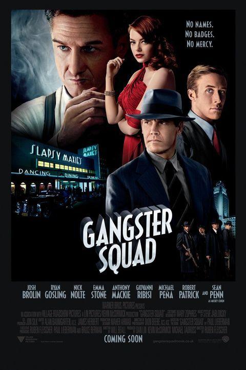 Gangster Squad - Plakatmotiv - Bildquelle: Warner Brothers