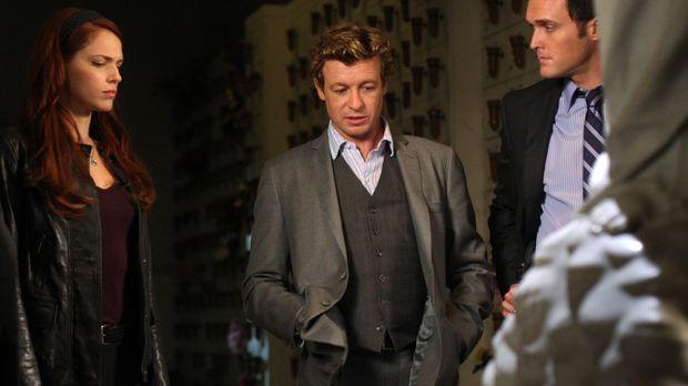 Ein neuer Fall beschäftigt Grace (Amanda Righetti, l.), Patrick (Simon Baker,...