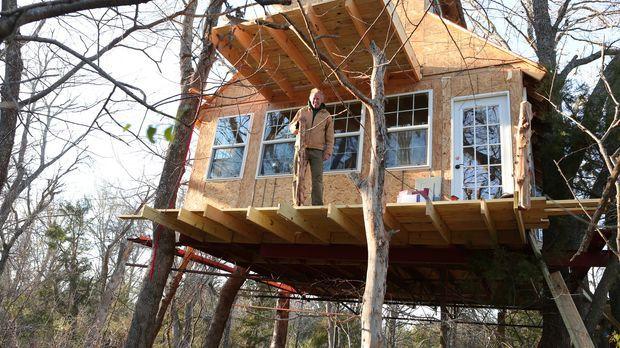 Baumhaus-Profi B'fer und seine Treehouse Guys reisen durchs Land, um Naturlie...