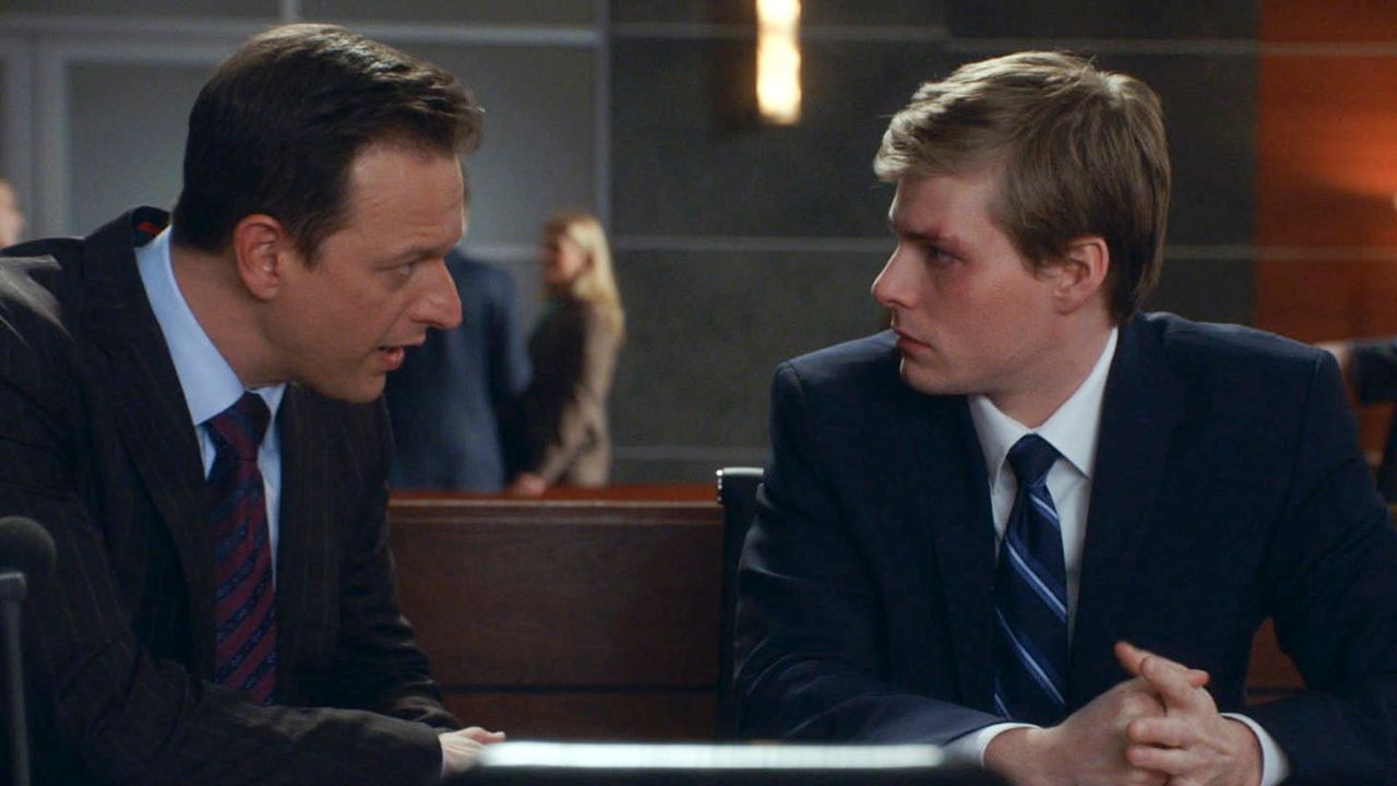 Noch setzt Will (Josh Charles, l.) alles daran, die Unschuld des Angeklagten Jeffrey Grant (Hunter Parrish, r.) zu beweisen. Doch ist er wirklich un... - Bildquelle: 2014 CBS Broadcasting, Inc. All Rights Reserved