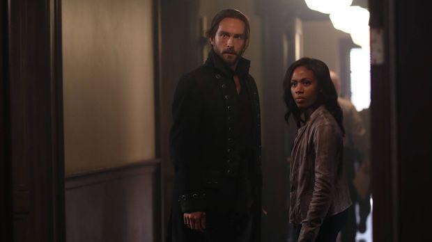 Als Abbie (Nicole Beharie, r.) und Ichabod (Tom Mison, l.) erfahren, dass Hen...