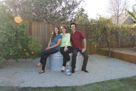 Trifft Garten Designerin Sara Bendrick (l.) wirklich den Geschmack von Jodi (...