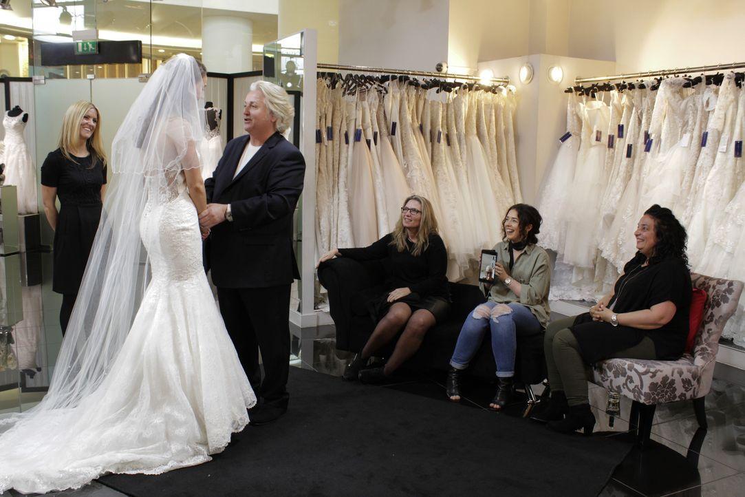 Jede Braut sollte sich gut überlegen, wen sie zum Kleiderkauf mitnimmt. Brau... - Bildquelle: TLC & Discovery Communications