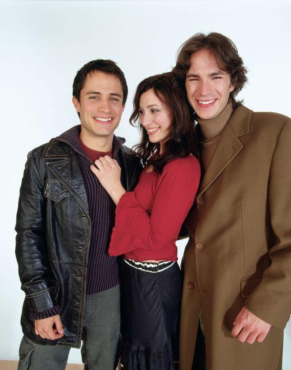 Spielen mit dem Feuer: (v.l.n.r.) Kit (Gael García Bernal), Carmen (Natalia Verbeke) und Barnaby (James D'Arcy) ...