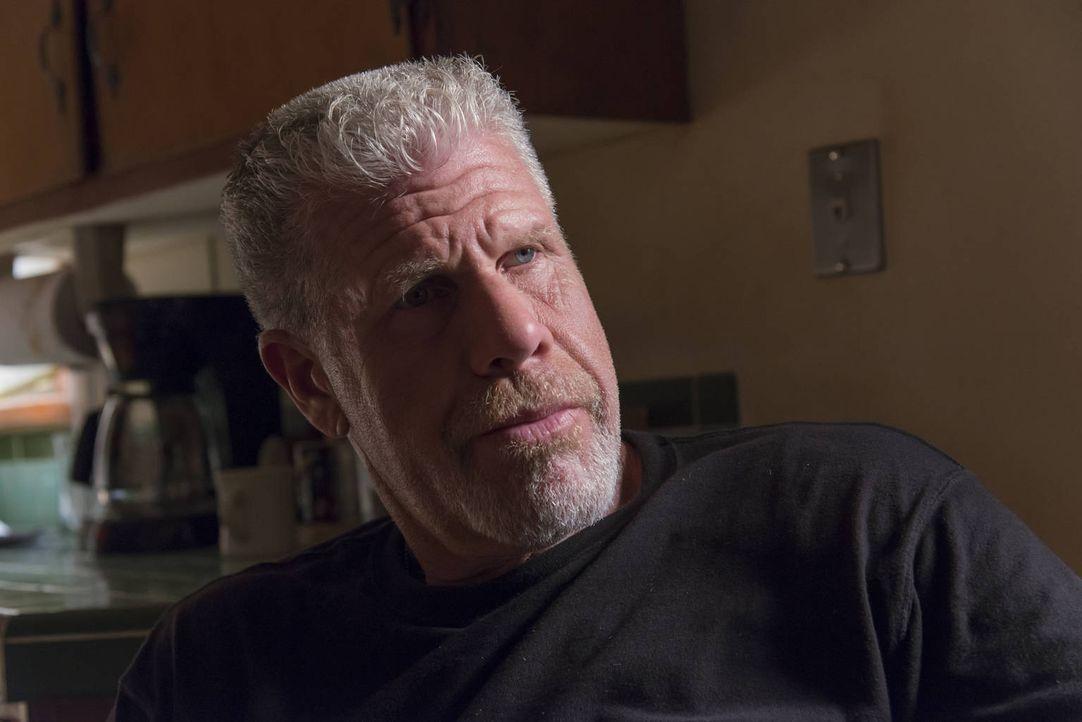 Clay (Ron Perlman) hat seine Fühler auch nach außerhalb des Clubs ausgestreckt ... - Bildquelle: 2012 Twentieth Century Fox Film Corporation and Bluebush Productions, LLC. All rights reserved.
