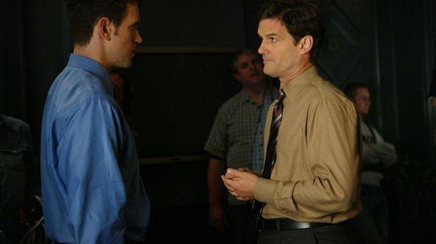 Auch privat führt Luke Horton (Jeremy Garrett, l.) ein Doppelleben. Er hat ei...