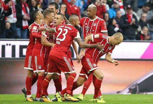 Klarer Sieg für die Bayern: 4:0 gegen Mainz 05