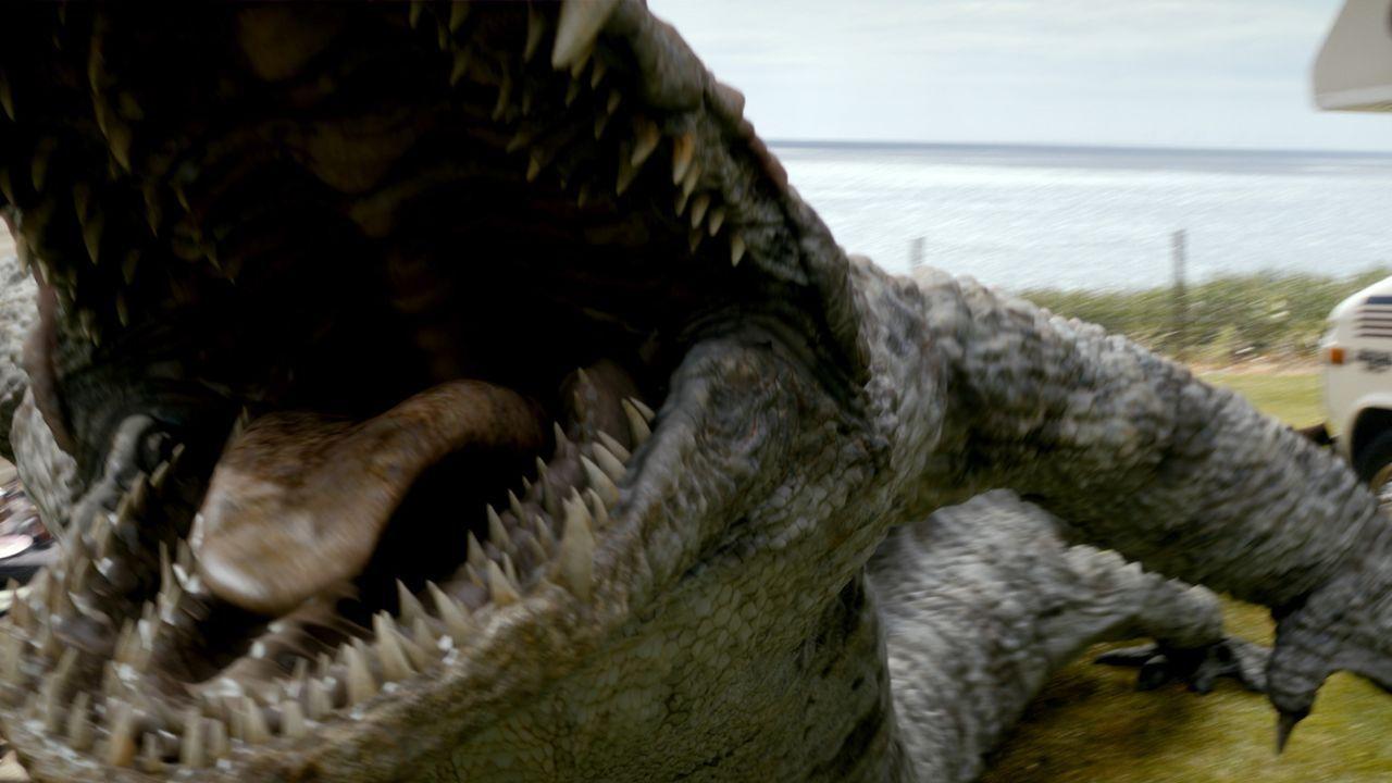 Das Team muss erneut mit Kreaturen aus der Vergangenheit kämpfen ... - Bildquelle: ITV Plc