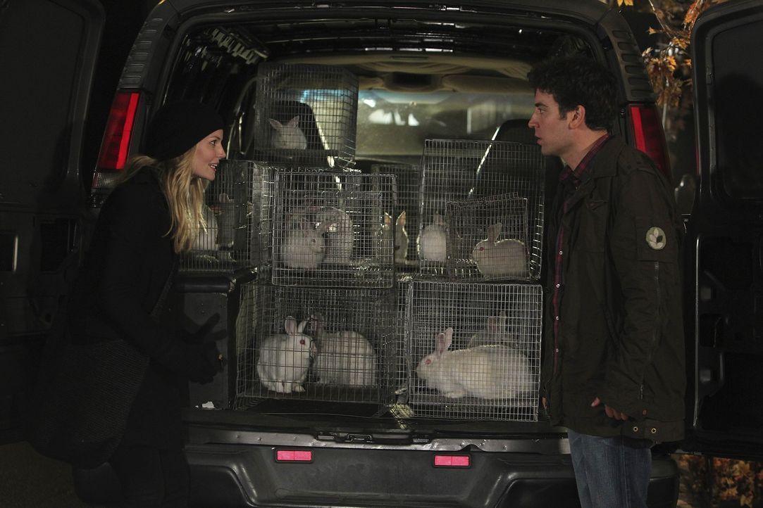 Als Ted (Josh Radnor, r.) die sympathische Zoey (Jennifer Morrison, l.) kennenlernt, ist er gleich hin und weg von ihr, doch leider verläuft nicht... - Bildquelle: 20th Century Fox International Television