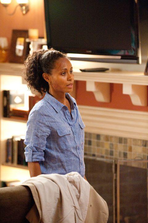 Christina Hawthorne (Jada Pinkett Smith) weigert sich, noch länger im Bett liegen zu bleiben ... - Bildquelle: 2011 Sony Pictures Television Inc. All Rights Reserved.