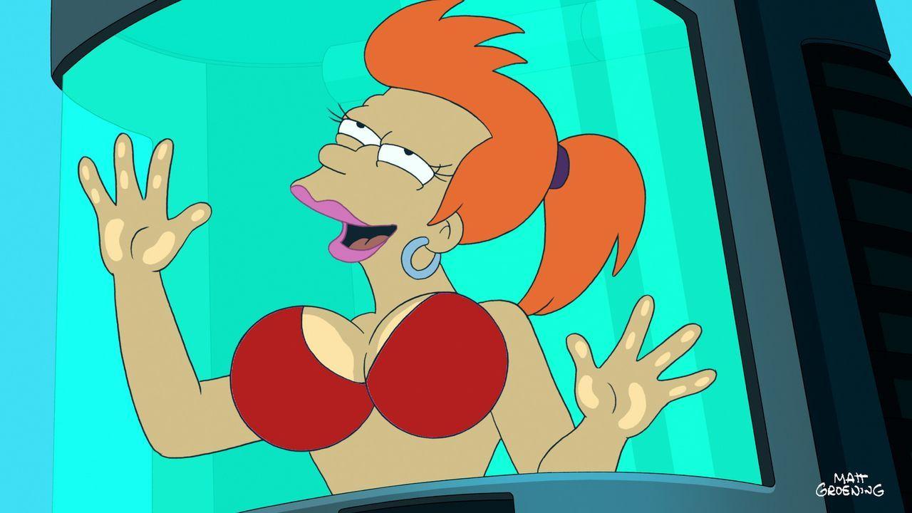 Fry steckt plötzlich in einem weiblichen Körper, was er gar nicht so schlimm findet ... - Bildquelle: 2011 Twentieth Century Fox Film Corporation. All rights reserved.