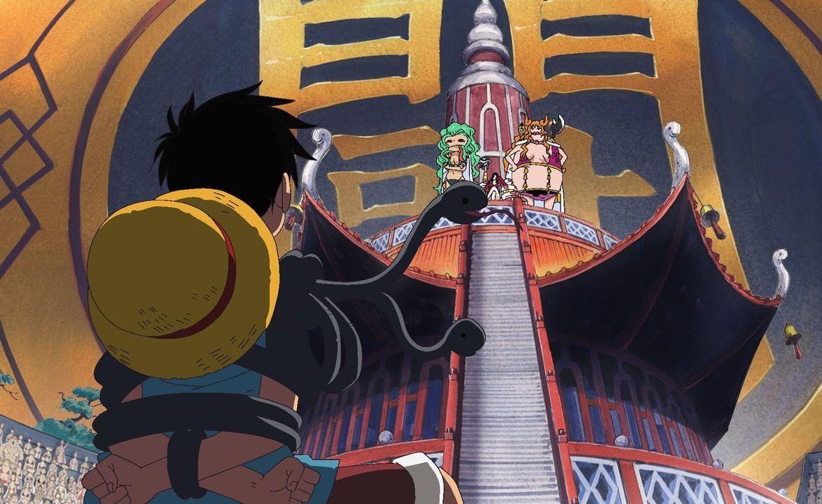Ein Herz aus Stein. Die Rache der Piratenkaiserin! - Bildquelle: Eiichiro Oda/Shueisha, Toei Animation