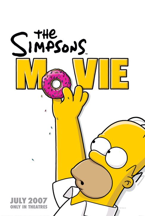 Die Simpsons - Der Film - Plakatmotiv - Bildquelle: 2007 Twentieth Century Fox Film Corporation