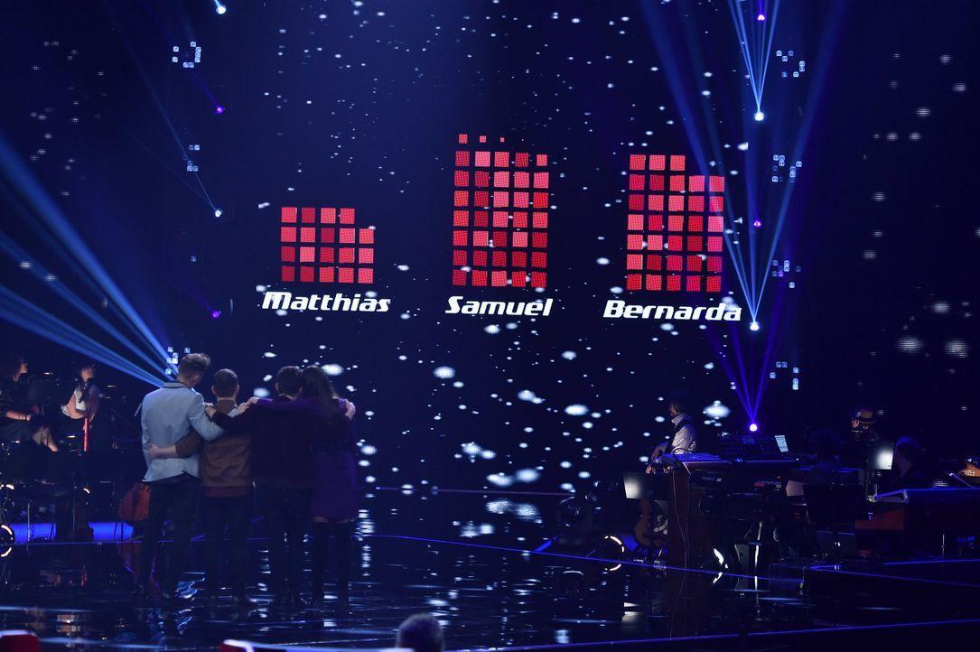 TVOG2018_Halbfinale_Matthias,Samuel,Bernarda - Bildquelle: ProSieben/SAT.1/Andre Kowalski