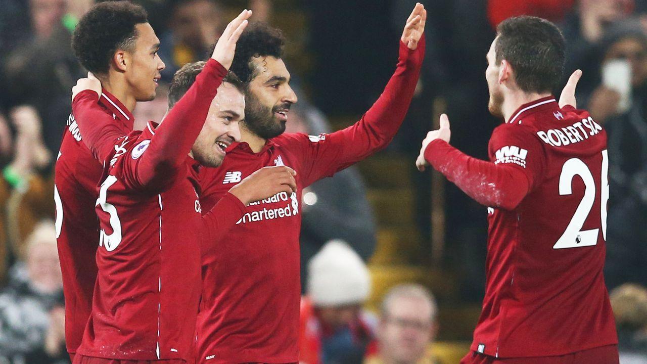 Platz 5: FC Liverpool (Premier League/England) - Bildquelle: 2018 Getty Images