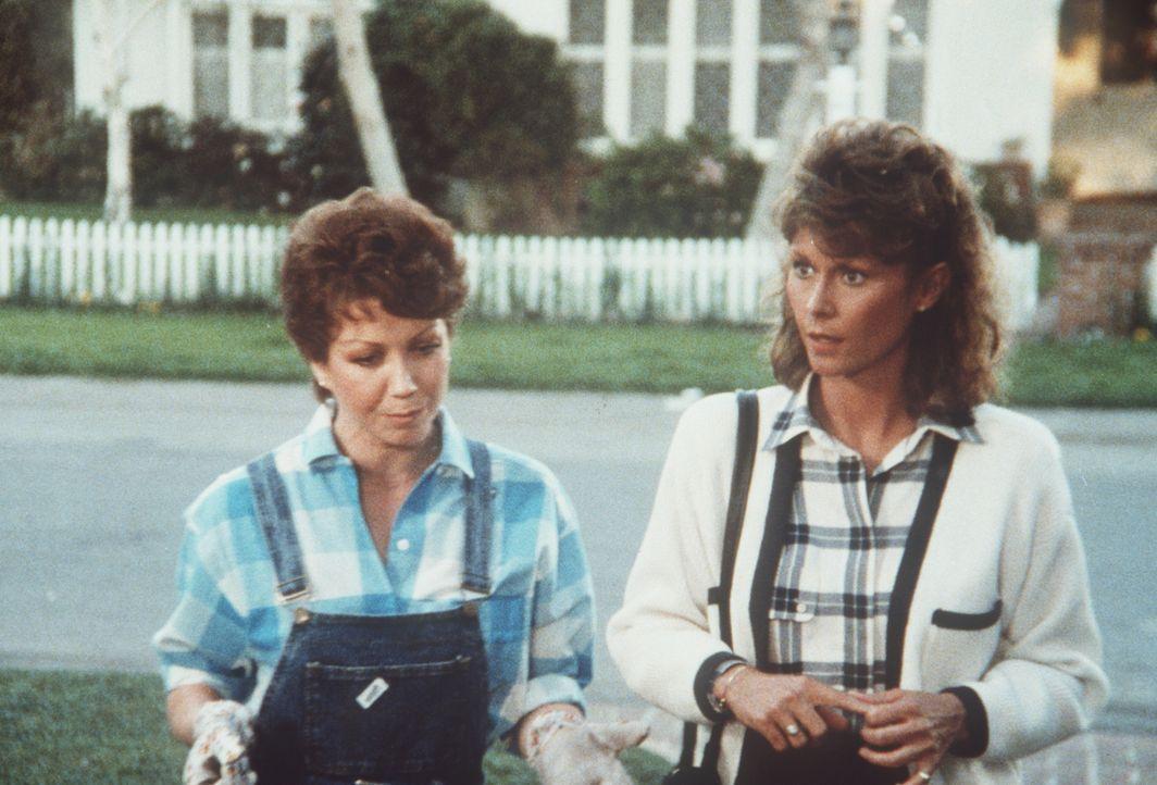Sandra (Donna McKechnie, l.) war einmal die Frau eines Königs. Jetzt lebt sie in einem Vorort von Washington. Amanda (Kate Jackson, r.) besucht die...