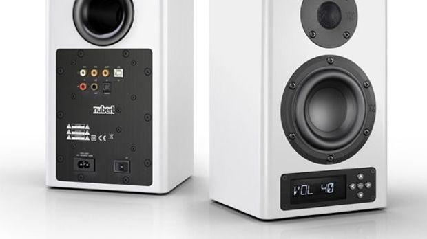 Die Nubert nuPro A-100 Aktiv-Lautsprecher