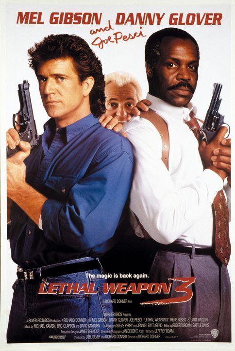 Lethal Weapon 3 - Die Profis sind zurück ... - Bildquelle: Warner Bros.