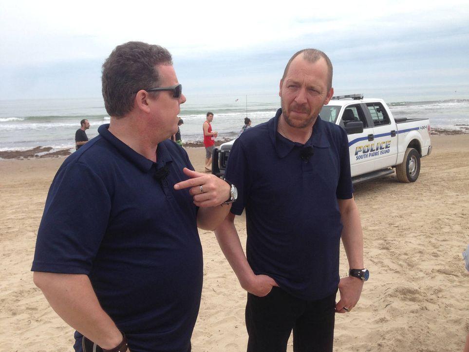 Toto (l.) und Harry (r.) schauen ihren Kollegen im Wilden Westen über die Schulter ... - Bildquelle: kabel eins