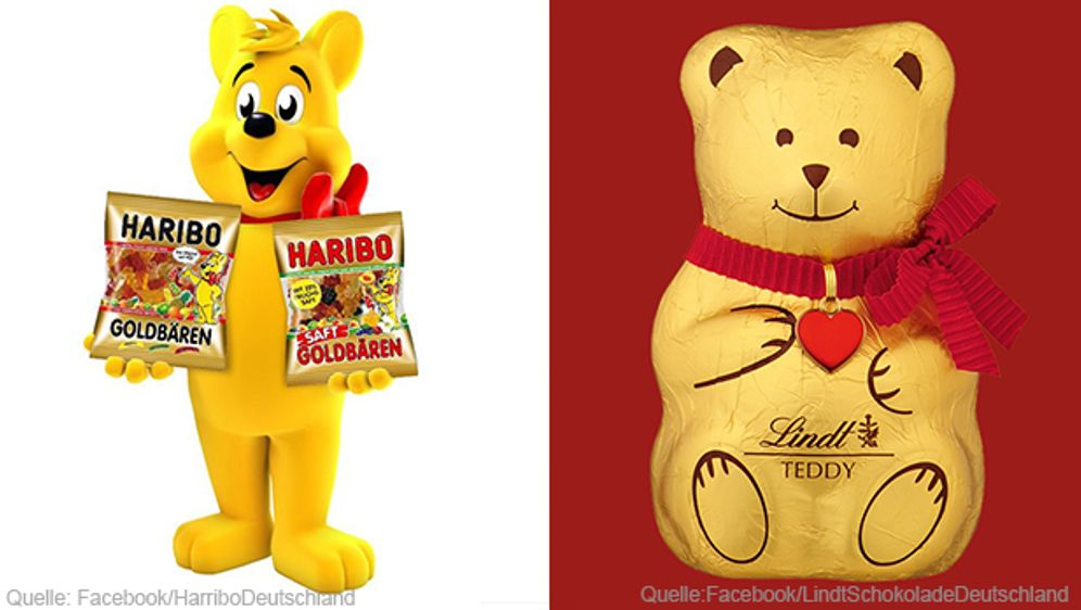 Haribo versus Lindt: Wer hat die Nase vorn?
