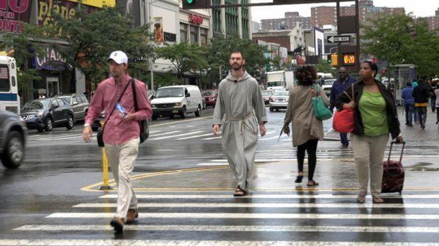 Mönche in der Bronx