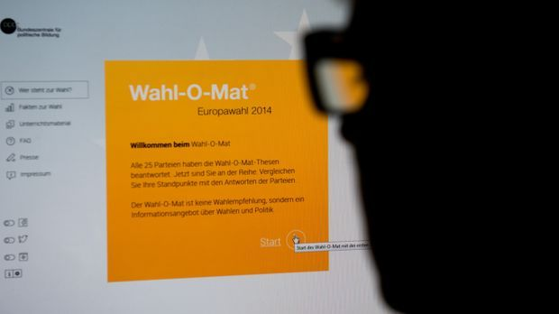 Europawahl 2014 Wahl-O-Mat_dpa