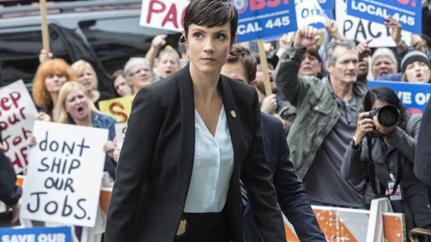 Ein neuer Fall wartet auf Brody (Zoe McLellan) ... © 2014 CBS Broadcasting In...
