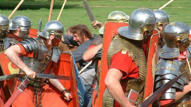 Auf dem Schlachtfeld und im ganzen Land - Roms militärische Maschine fegte üb...