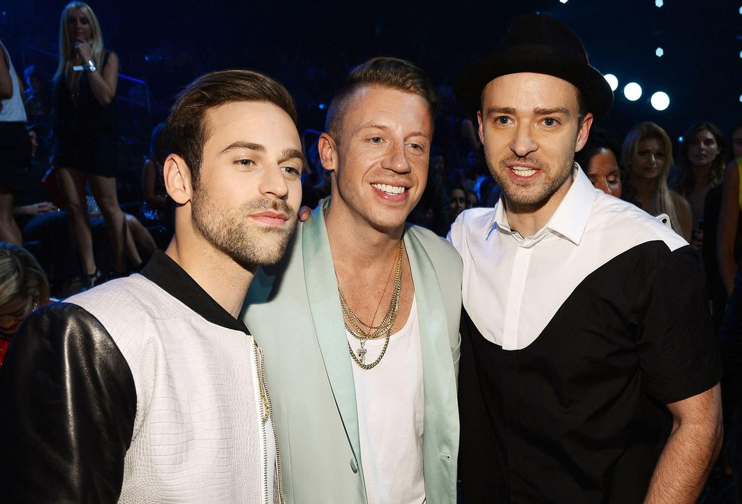 MTV-Music-Video-Awards-Ryan-Lewis-Macklemore-Justin-Timberlake-130825-getty-AFP.jpg 2000 x 1358 - Bildquelle: getty-AFP