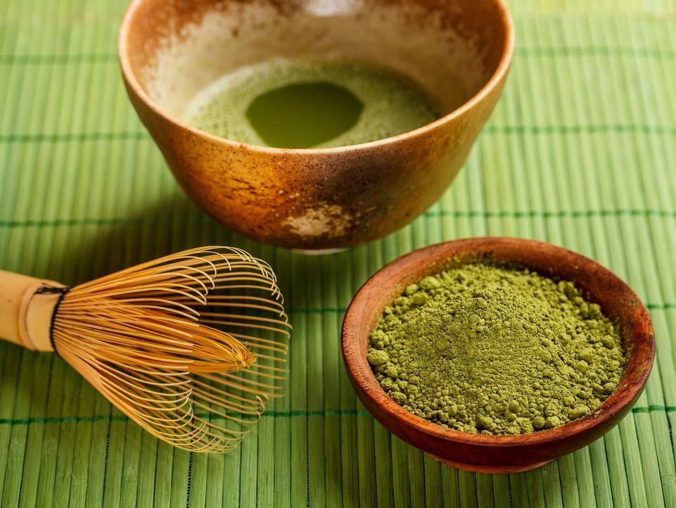 Grüner Tee - Bildquelle: Fotolia - Grafvision