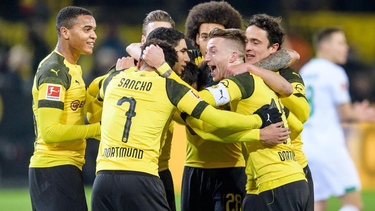 Platz 4: Borussia Dortmund (Bundesliga/Deutschland) - Bildquelle: Bongarts/Getty Images