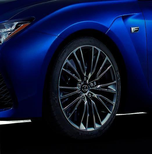 Lexus-Seitenansicht