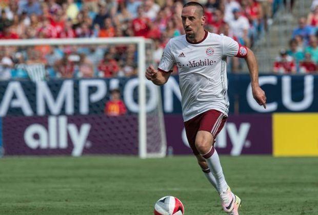 Bayerns Franck Ribery soll bald seine Rückkehr feiern