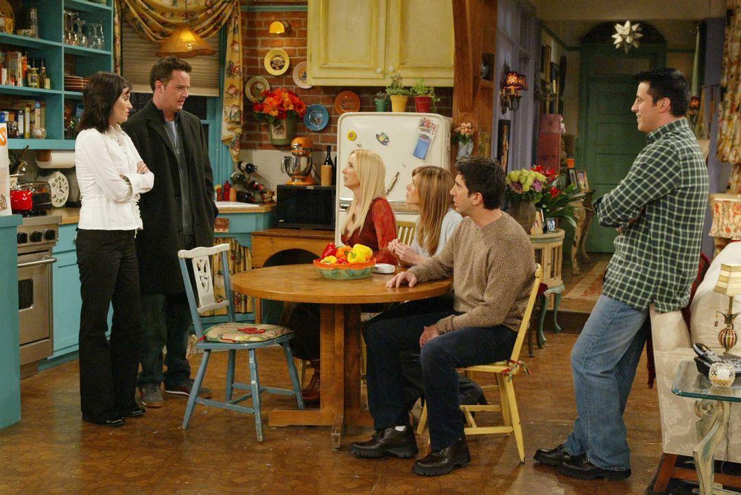 friends-clique-damals-teaser-2003-Warner-Brothers-International-Television  - Bildquelle: 2003 Warner Brothers International Television