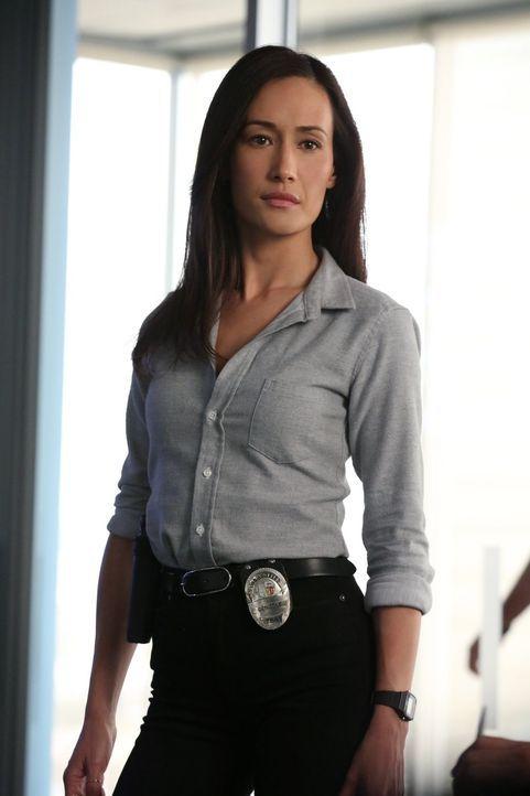 Ist ihr Leben in Gefahr, als sie herausgefunden hat, wer ist Stalker ist? Beth (Maggie Q) ... - Bildquelle: Warner Bros. Entertainment, Inc.