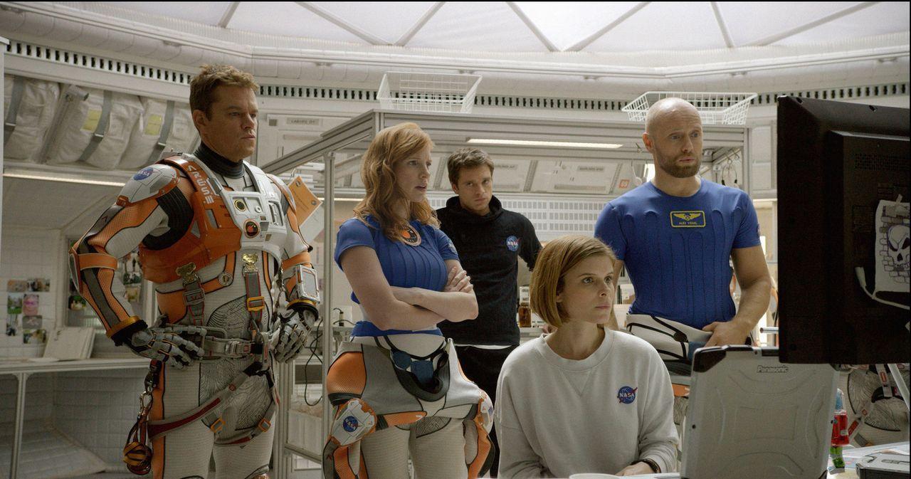 """Die Forschungsreise der Raumfahrt-Mission """"Ares III"""" ist beinahe zu Ende, als ein gewaltiger Sandsturm auf dem Mars die Evakuierung der Basisstation... - Bildquelle: 2015 Twentieth Century Fox Film Corporation.  All rights reserved."""