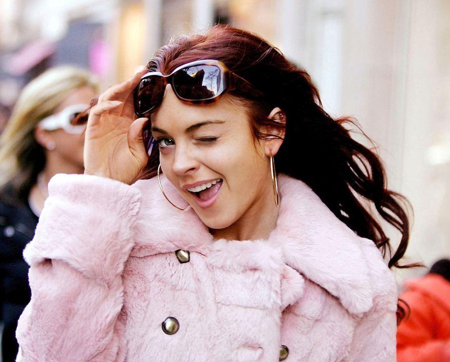 Ein einziger Kuss - und Ashley Albright (Lindsay Lohan) wandelt sich von everybody's Darling zur Pechmarie ... - Bildquelle: Epsilon Motion Pictures GmbH