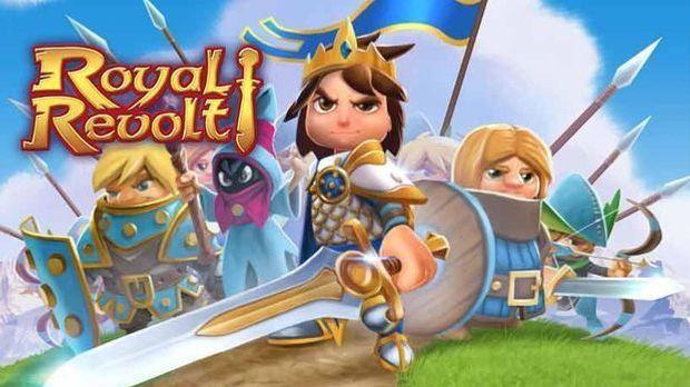 Holen Sie sich beim Mobile Game Royal Revolt den Platz auf dem Thron zurück